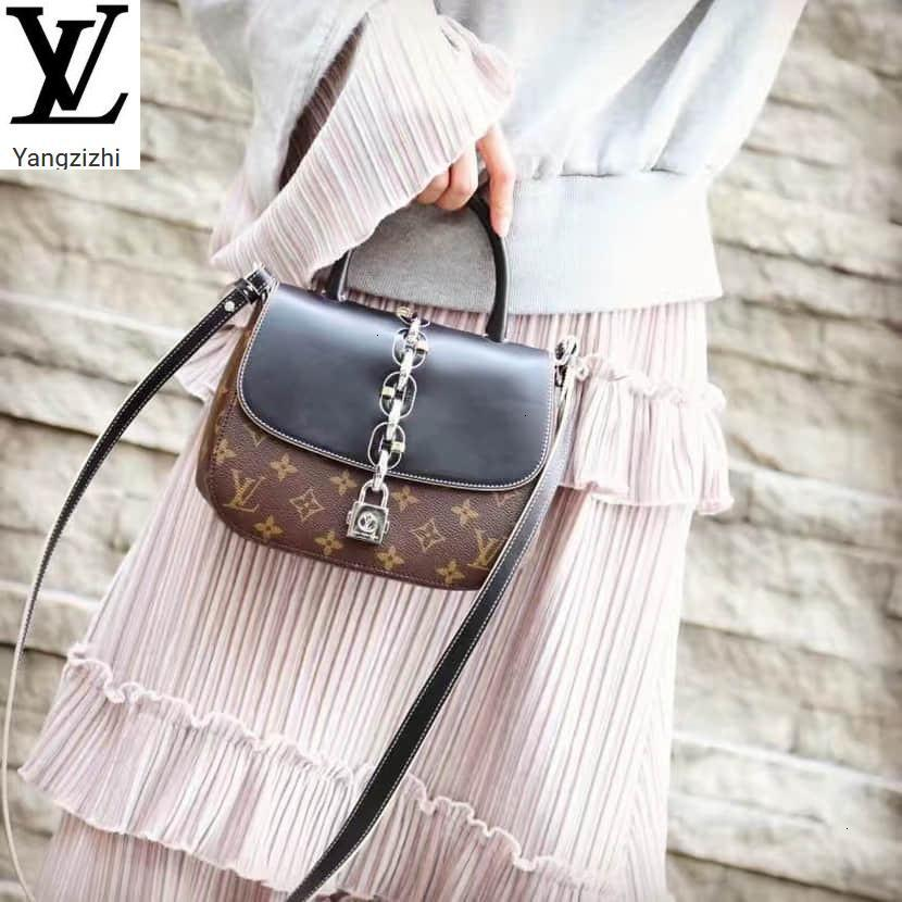 Yangzizhi New M41115 Limited Edition Leather With Portable Messenger Bag Handbags Bags Top Handles Shoulder Bags Totes Evening Cross
