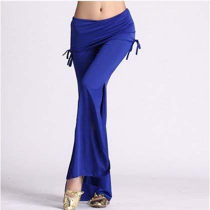 New belly dance costumes senior milk silk waist belly dance pants for women trousers