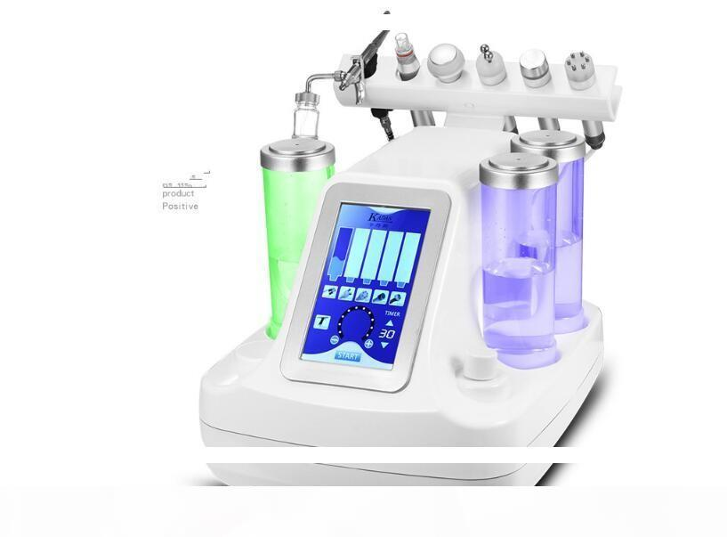 5,6,7 in 1 bio rf Kalt hammer hydro Microdermabrasie Wasser hydra Dermabrasion Spa Facial Hautpore Reinigungsmaschine frei DHL