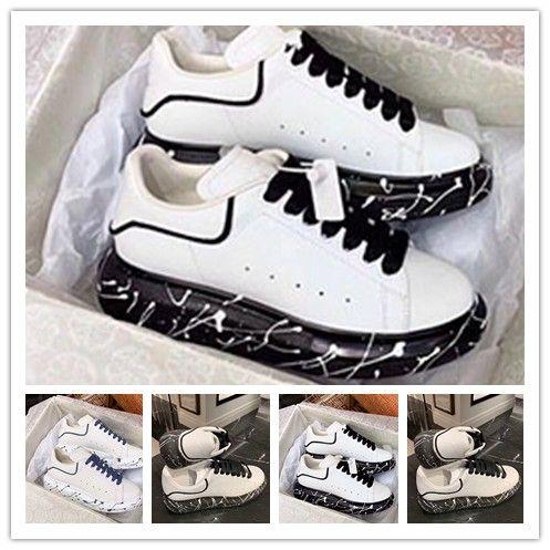 2020 Itália Marcas Estilo Fashion Designer Sneakers Couro das mulheres dos homens sapatos casuais Gooses instrutor 1T11