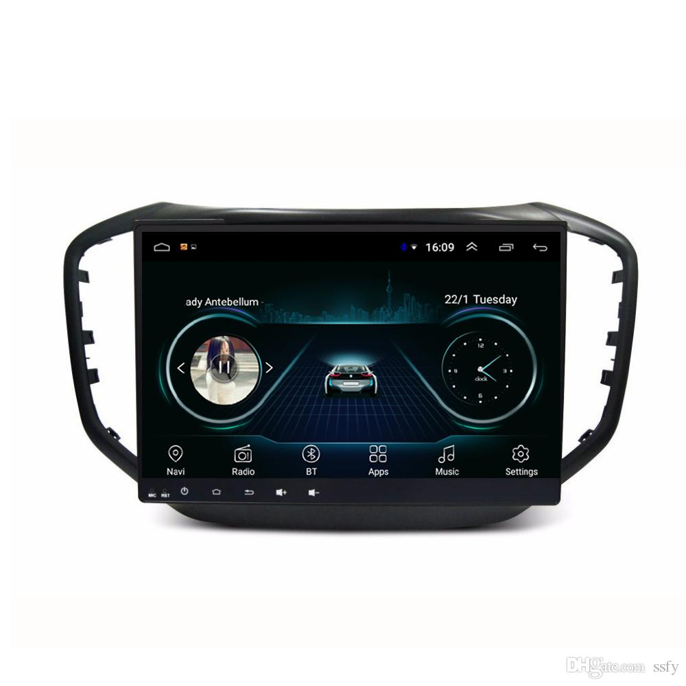 Android car GPS with free map radio AM FM high quality bluetooth Resolution HD 1024 * 600 multi-touch screen for Chery tiggo 5 10.1inch