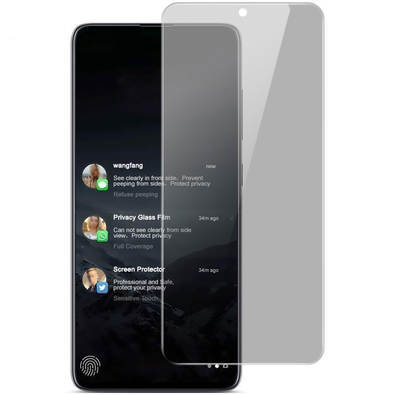 For Samsung Galaxy Note 10 Lite IMAK Anti-spy Tempered Glass Film