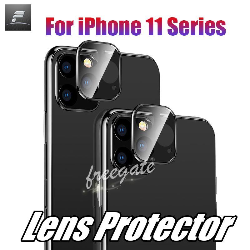 Ultra Camera Pro Max pour iPhone 11 Verre Packaging 9H Lens Protecteur Protecteur Film de protection Durée de la dureté TRÈS TRÉRATURE AVEC DÉTAIL COMPATIBL WJXG