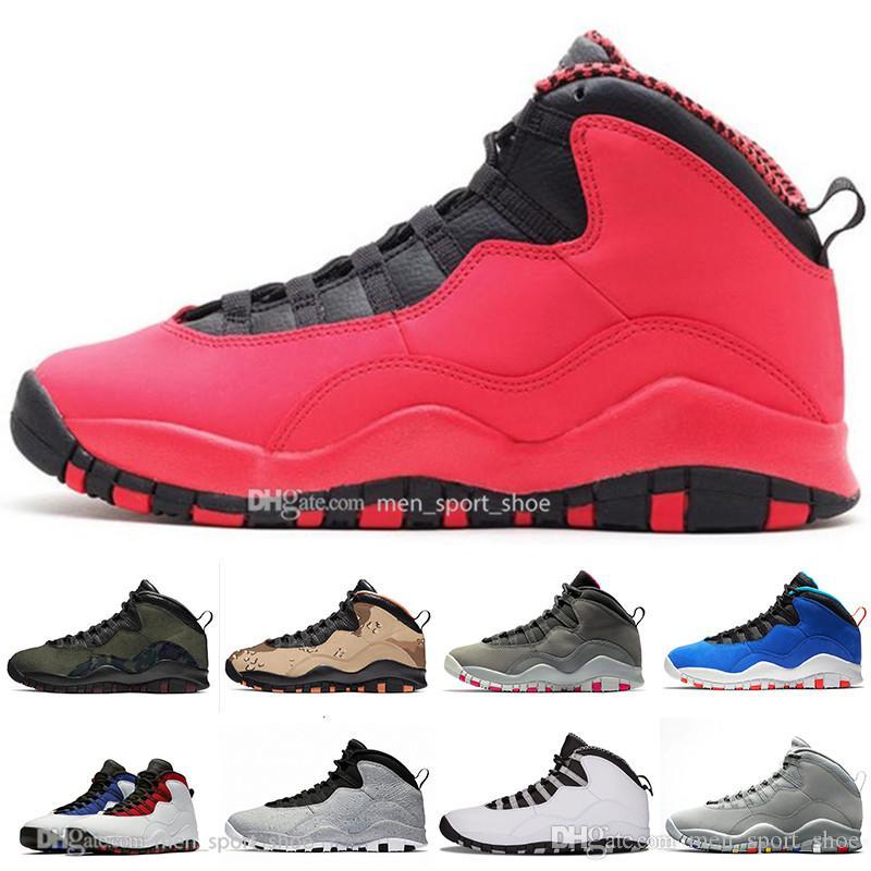 2019 10 10s Tinker Cement Westbrook Uomo Allenatore Scarpe da pallacanestro Sono tornato Nero Bianco Blu Rosso Moda Uomo Sport Sneakers Taglia 41-47
