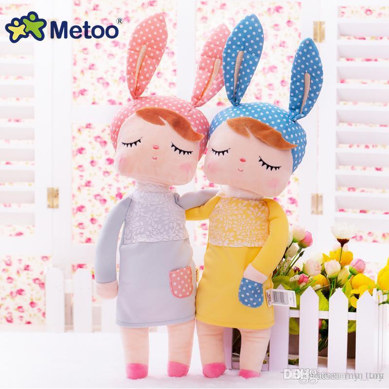 Cartoon Angela Rabbit Soft Doll Stuffed Plush Animals Kids Toys for Girls Children Boys Kawaii Baby Plush Gift Toys