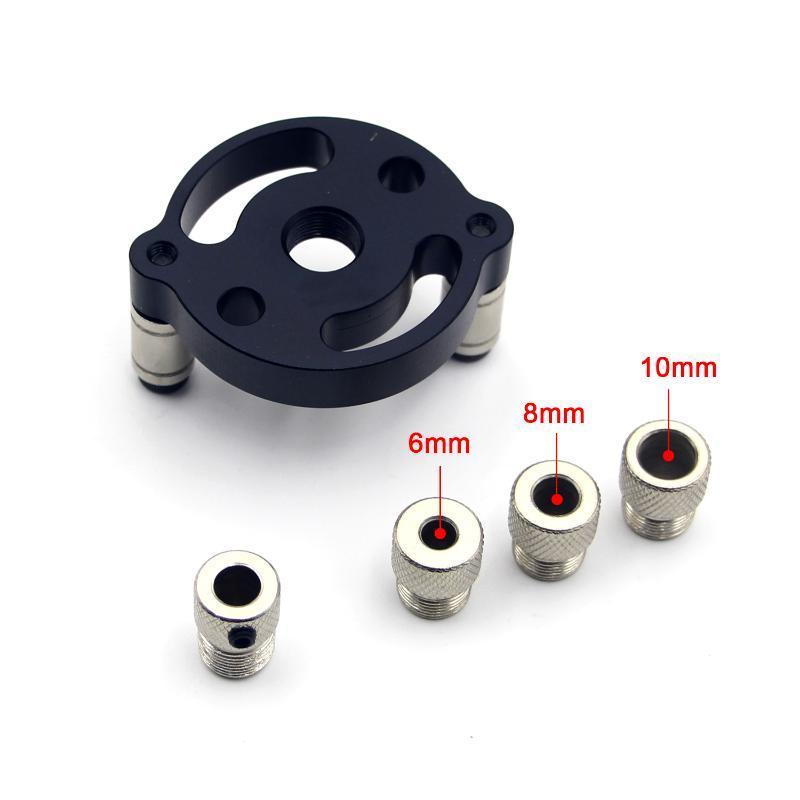Professionale del legno dritto Punzonatrice Perforazione Locator 6 8 10 mm autocentranti rotonda spine di giunzione di attrezzi di apertura