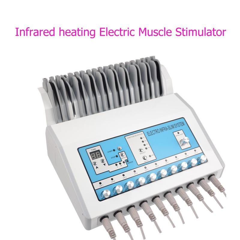 Máquina de emagrecimento Perda de peso ems estimulador muscular Electrostimulation Máquina russos Waves ems elétrica estimulador muscular