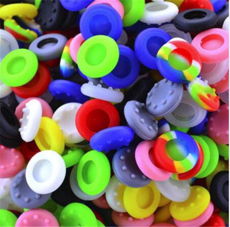 MOQ 500 шт. Мягкие скользящие силиконовые пальцы пальцы Cap Cap Cap Cap Caps Caps Haps Happles Covers Cover для PS3 / PS4 / Xbox One / Xbox 360 контроллеров