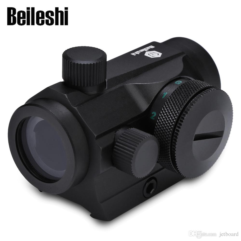 Beileshi Tactical Holographic Red Green Dot Sight Scope Rail Mount 20mm