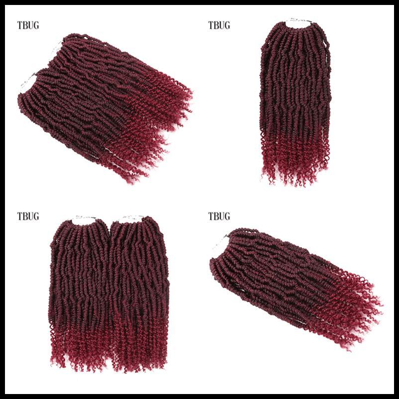 Miglior capelli per Passion Twist Crochet Passione Twist Freetress sintetico intrecciare i capelli estensioni Bomb Ombre Passione Twist intrecciare i capelli Dhgate