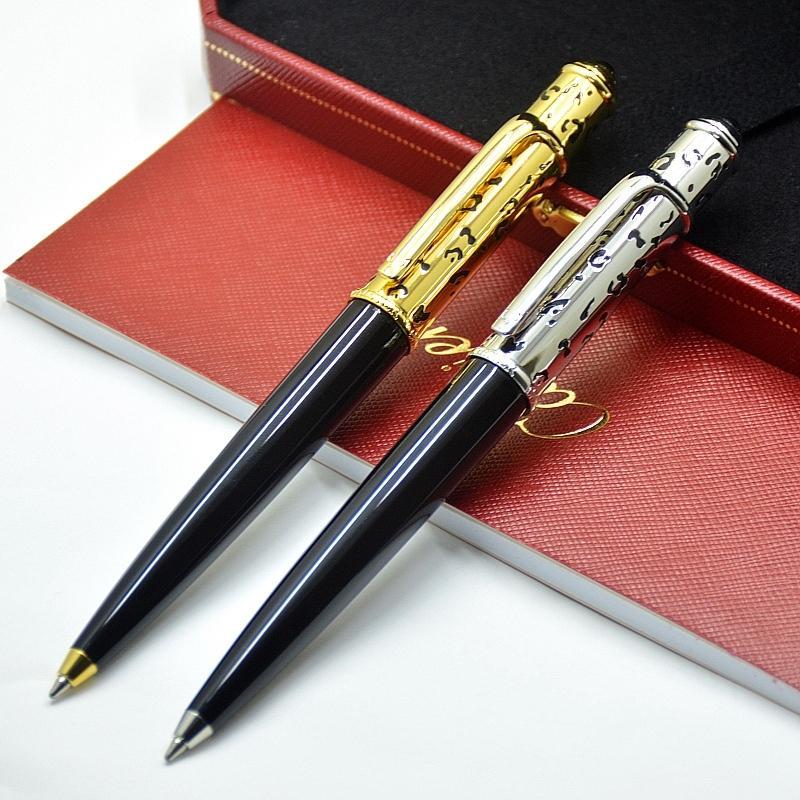 قلم هدية عيد الميلاد الفاخرة ذو جودة عالية العلامة التجارية لسلسلة ديابولو أقلام الحبر الذهبية مجوفة