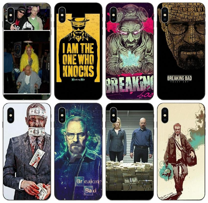 [TongTrade] Tv Breaking Bad per l'iPhone 12 11 Pro X Xr Xs Max 8 7 6 SE 2020 cassa della galassia J5 S10 Huawei P40 Mate 10 P30 GR3 GR5 HTC One M8