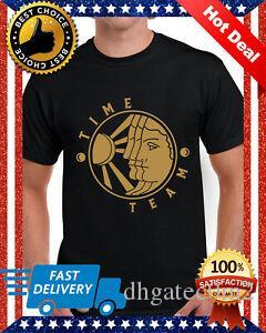 Time Team britisches Programm TV-Show-T-Shirt Baumwolle 100 Normale Größe S 5XL Fun