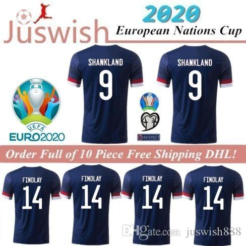 2020 SCOTLAND FOOTBALL JERSEYS HOME BOBERTSON 2 FRASER 11 ARMSTRONG 18 BURKE 9 CcGREGOR 10 FORREST 7 19 20 ENFANT ENFANT JERSEY FOOTBALL