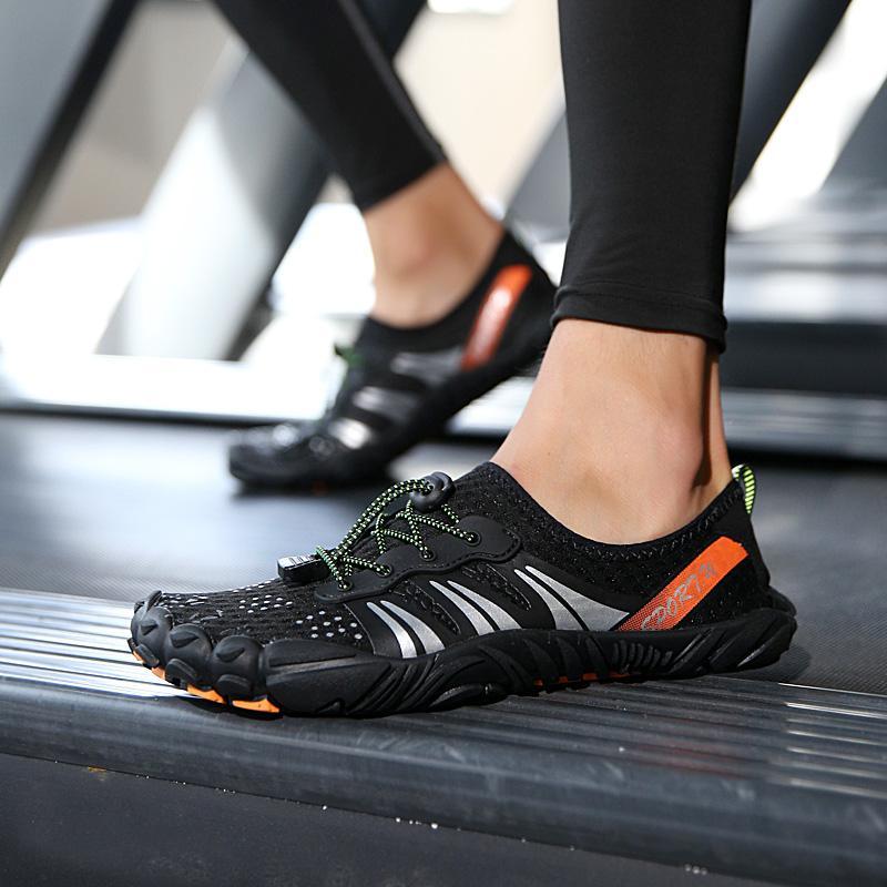 Летний Открытый Восхождение сапоги Женская обувь Туризм Мужская обувь Athletic сетки воды противоскользящим легкий Спорт Кроссовки