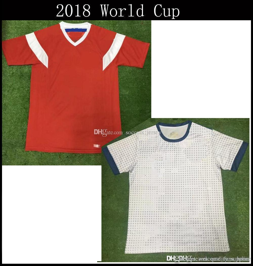 47f09461d 2018 2019 World Cup Russia Soccer Jersey Russian Home Red DZAGOEV KOKORIN  GLUSHAKOV SMOIOV KUZIAEV VRSIN Football Shirt UK 2019 From  Welcome fans home