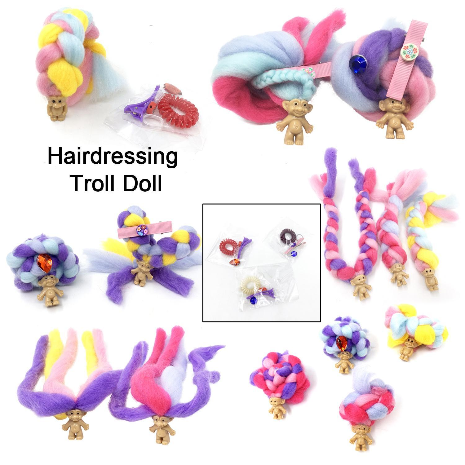 Mini Troll Doll Long Hair Marshmallow Candy Sweet Treat Toys Hobbies Dolls Accessories Surprise Hairstyle Doll
