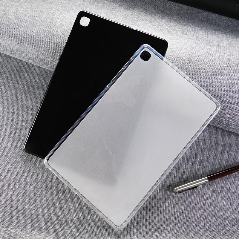Matte Brillant doux Gel TPU pour iPad Pro 11 2020 Air 10,5 Air2 9,7 2017 2018 10,2 pouces min 3 4 5 Samsung T510 T720 T860 T290 T307 P610