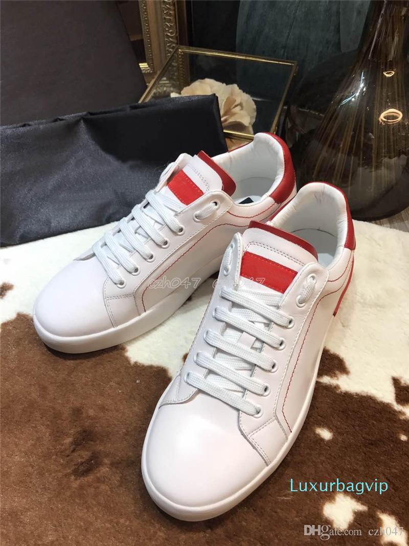 tamaño del diseñador de moda casual zapatos hombres de las mujeres para hombre de estilo de vida diaria que anda en monopatín de zapatos de lujo de la plataforma de moda Caminar Formadores Negro s 35-45
