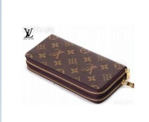 7a4987ee0c4a3 2019 Louis Vuitton sıcak çanta kadın cüzdan erkek cüzdan debriyaj kart  sahibinin kutusu ile hakiki deri