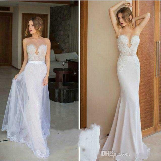 2019 сексуальный стиль страна бохо плюс размер кружева русалка свадебные платья свадебные платья Abendkleider халат де mariée