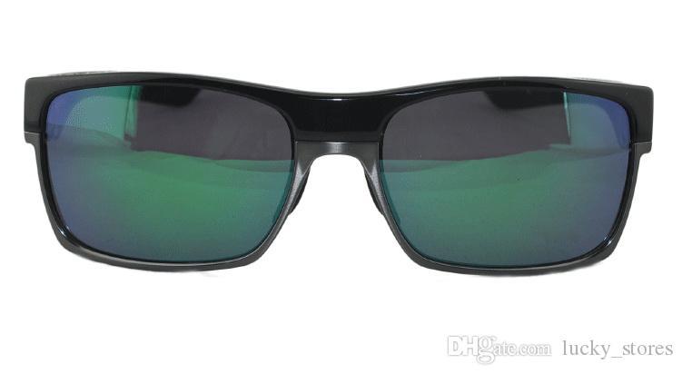 Moda vida dois óculos de sol homens mulheres designer estilo de vida 2 óculos marca esportes sol óculos com casos