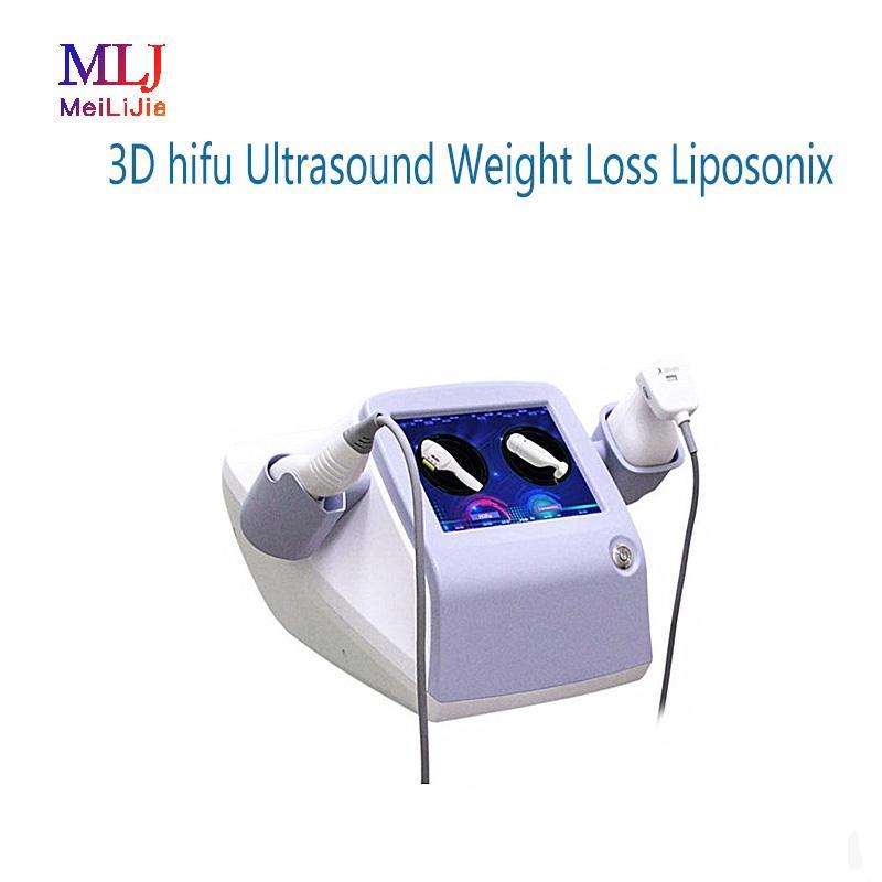 Levantamiento de cara del ultrasonido de HIFU con el cuerpo de 1.5 / 3.0 / 4.5mm que adelgaza pérdida de peso del ultrasonido con la máquina de 8.0 / 13.0mm