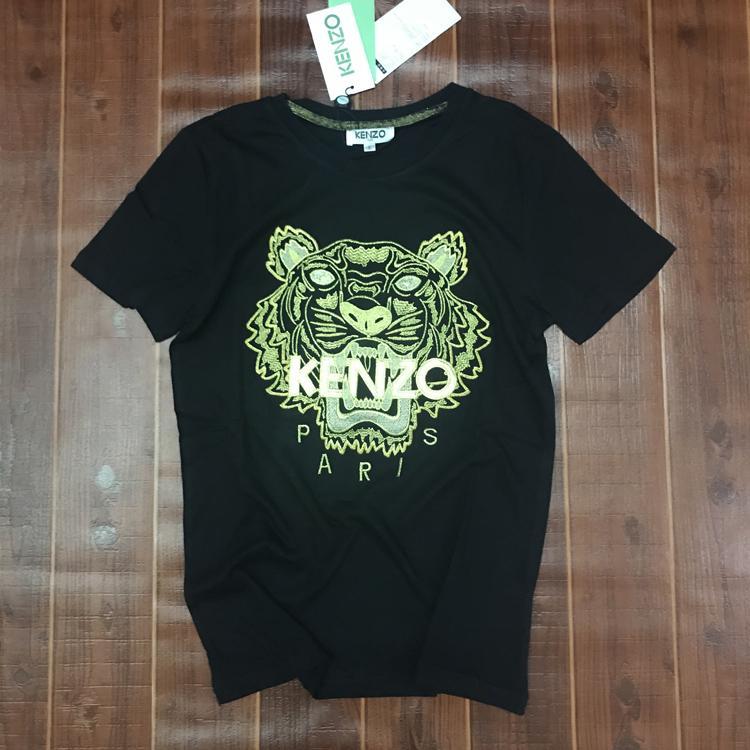 Ken2o Erkek Tasarımcı Tişört Marka Tişörtler kadınlar nefes Şort kısa Kol kaplan Gömlek mektup printLuxury Nakış kaplan Tee 20032407T
