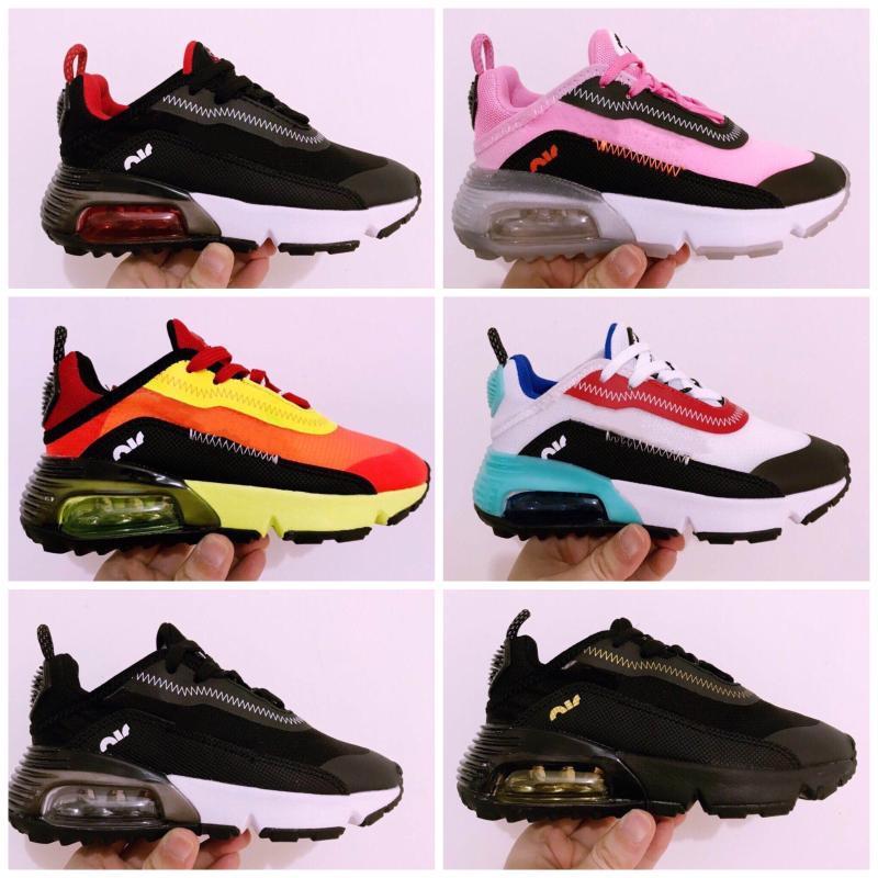 Nike Air Max Vapormax 2090 Scarpa bambini Sneakers bambini Sport ortopedico Gioventù Bambini formatori infantile delle ragazze dei ragazzi scarpe da corsa 9 colori Dimensione 26-35
