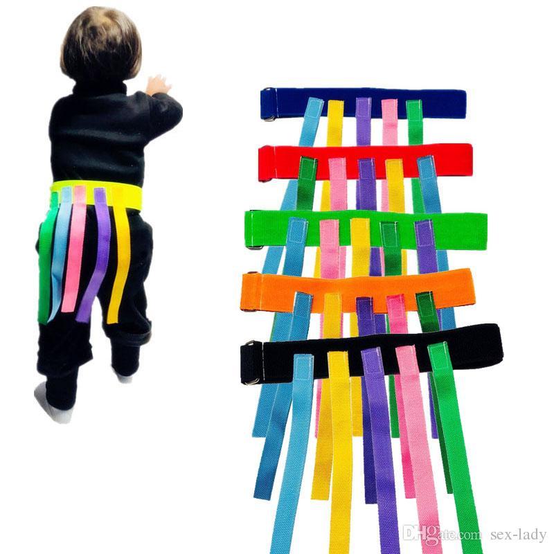 Brinquedo do bebê Para As Crianças Jogo Engraçado Cinto De Brinquedo Para O Jardim de Infância Crianças Pegando Cauda Equipamento de Treinamento Trabalho Em Equipe Jogo Brinquedos