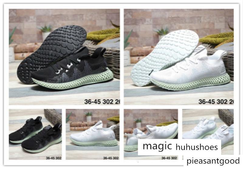 2019 zapatos ocasionales de los nuevos AlphaEdge 4D 4D Ltd Hombres Mujeres Blanco Negro zapatilla de deporte de los zapatos ocasionales 24