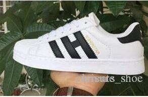 Hot Summer Fashion 2019 Scarpe uomo casual Superstar Smith scarpa femminile piatte Scarpe Donna Zapatillas Deportivas Mujer amanti Sapatos Femininos.