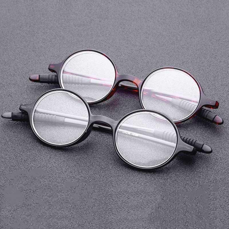 Yüksek Kalite Şu Toptan Okuma Gözlüğü Yuvarlak Çerçeve TR90 Ultra Hafif Süper Elastik Karşıtı Yorgunluk Presbiyopi Gözlük 175