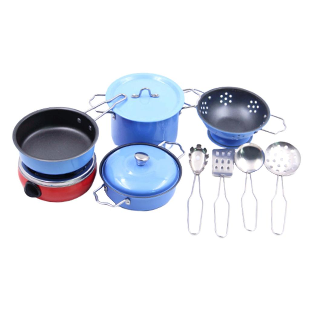 2021 Kids Children Kitchen Pretend Play Toys Cooking Cookware Set Stainless Steel From Gralara 20 95 Dhgate Com