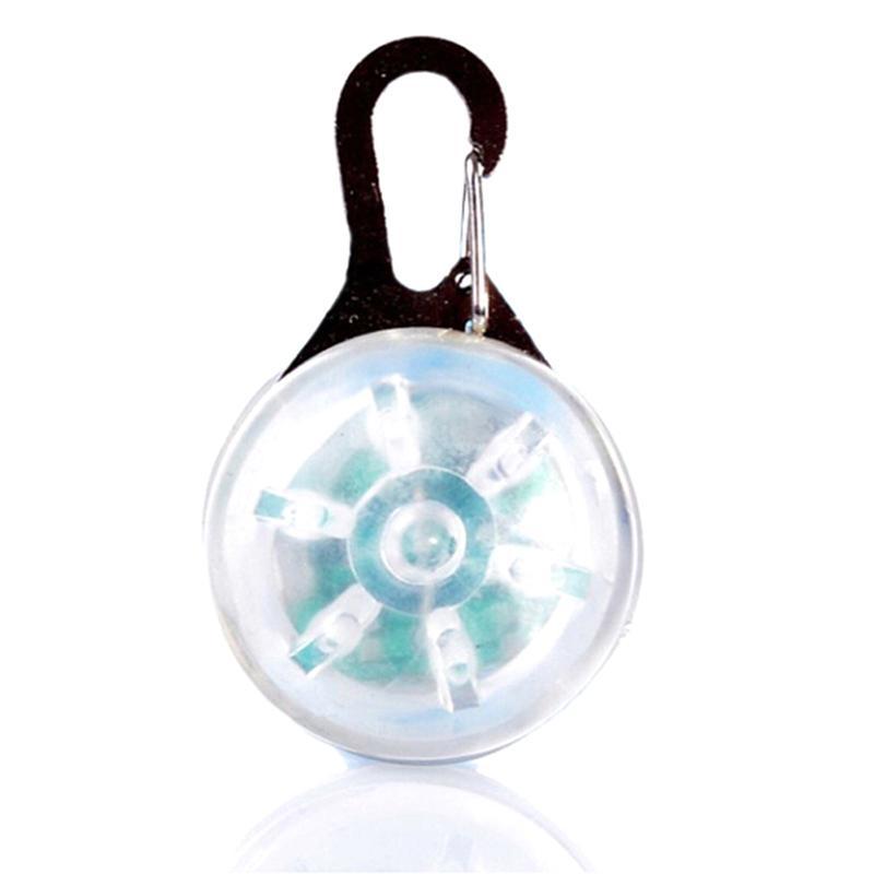 Welpen-Katze-Nachtlicht Flashing Collar Pet Luminous Helle glühende In Dark Sicherheits LED glühender Anhänger Hund Halskette
