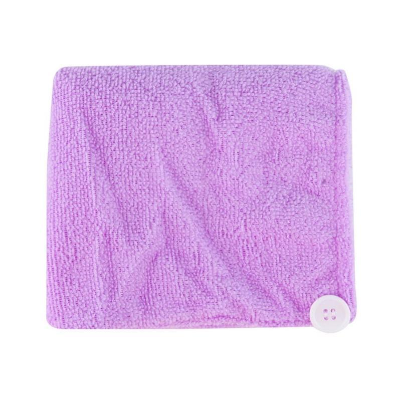 Womens Girls Lady's Magic Quick Dry Bath Hair Drying Towel Head Wrap Hat Makeup cosmetics Cap Bathing Tool