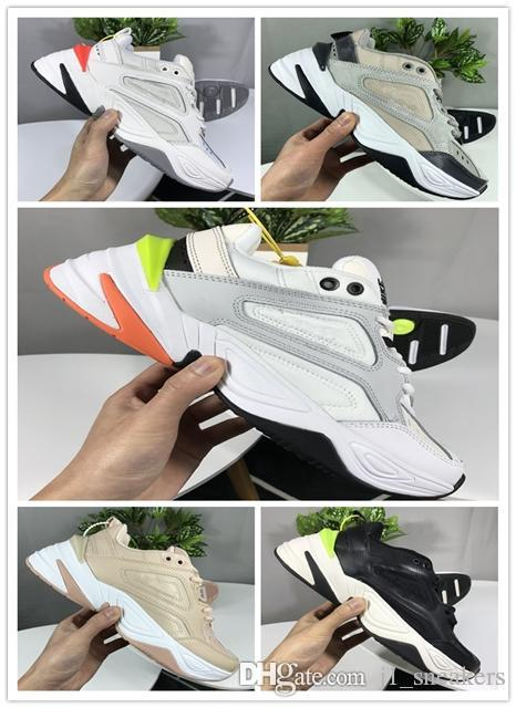 2019 men women Monarch the M2K Tekno Dad Sports Shoes Top quality chaussure homme femme Zapatillas Trainers running Sneakers 36-45 UP130