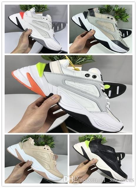 Nike Air Monarch the M2K Tekno 2019 Männer Frauen Monarch die M2K Tekno Dad Sportschuhe Top-Qualität chaussure homme femme Zapatillas Trainers läuft Turnschuhe 36-45 UP130