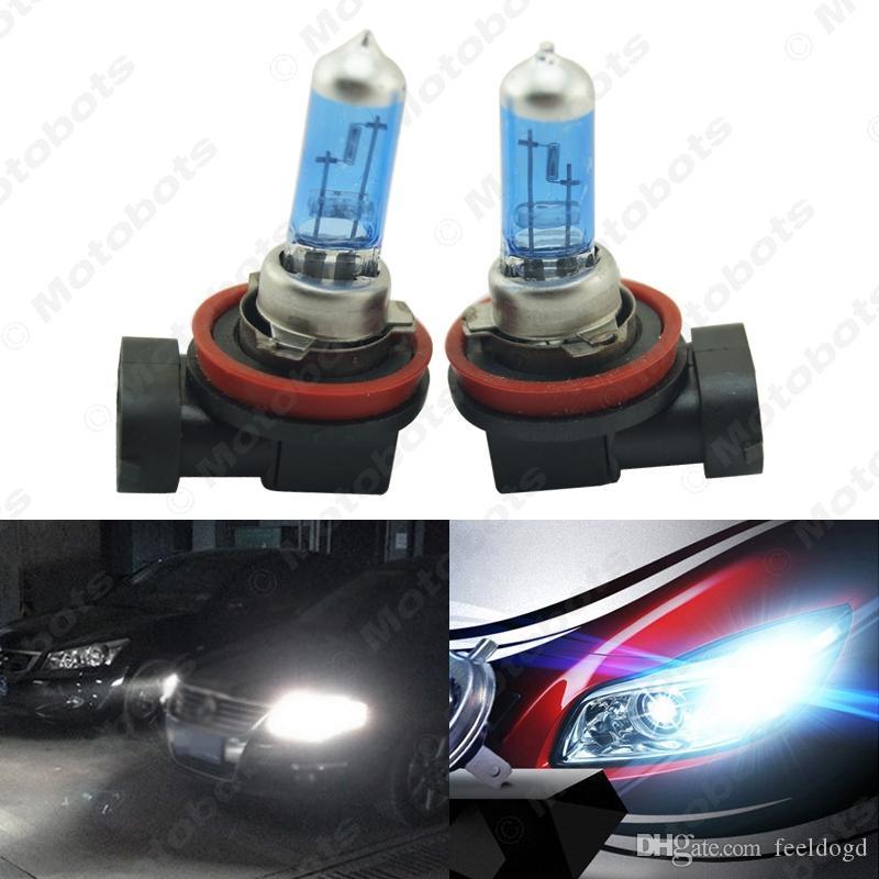 2X H8 Super White Hight Power Fog Halogen Bulb 35W Car Head Light Lamp 12V Light