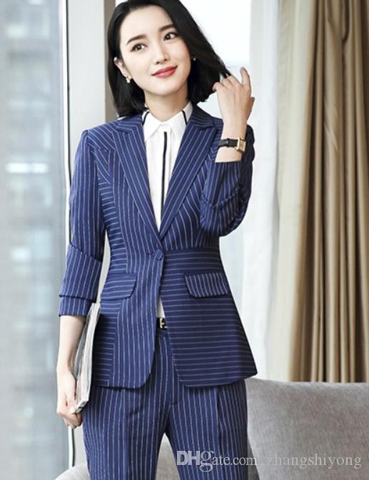 2019 kadın ceket ilkbahar ve sonbaharda yeni stil uzun kollu moda batı- tarzı giysiler