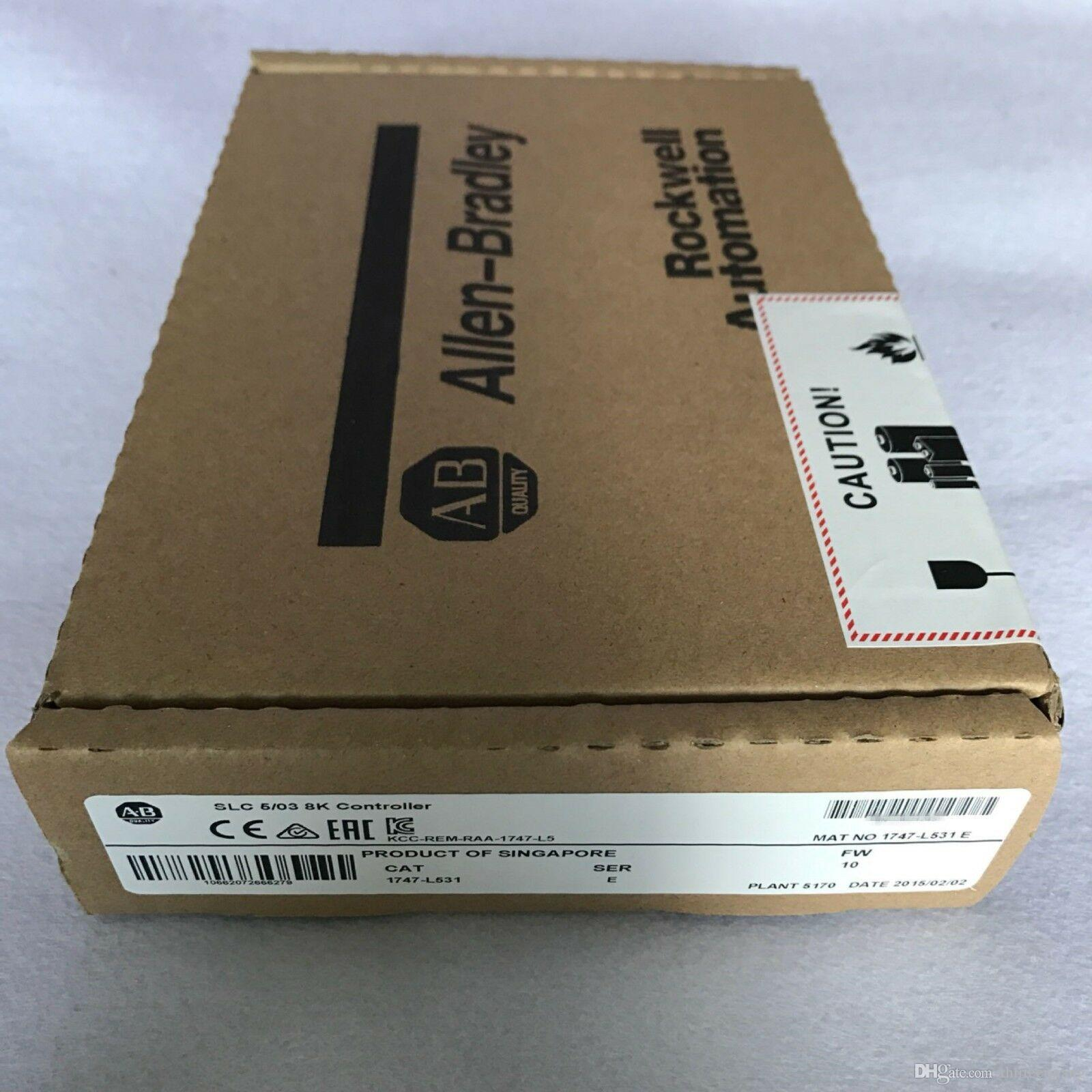 1 PC Original Allen-Bradley 1747-L531 Processor Unit Module New In Box/Used Test In Good Condition