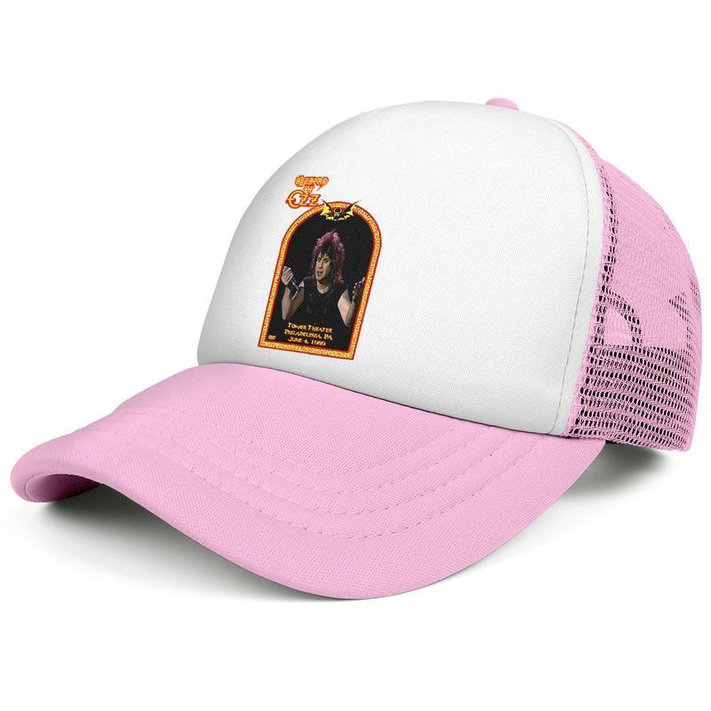 Ozzy Osbourne Perry Mason pour hommes et femmes équipe personnalisée de conception de base-ball de camionneur casquette casquette de camionneur Live in Philly Ozzy Osbourne PLUS TOURS A