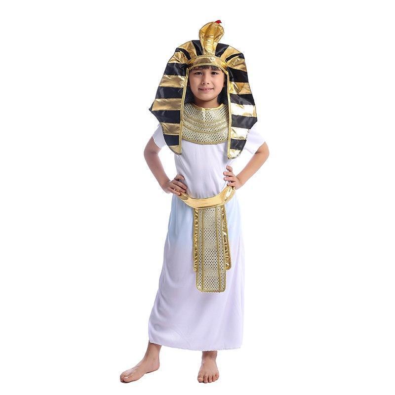 Vestido de lujo Kit de Faraón Egipcio Rey Niño de fiesta de Semana Libro