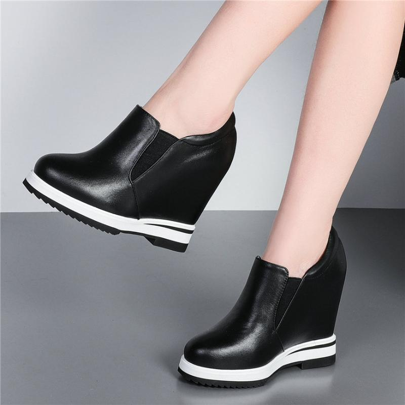 2020 Platform Wedge Sneakers Women