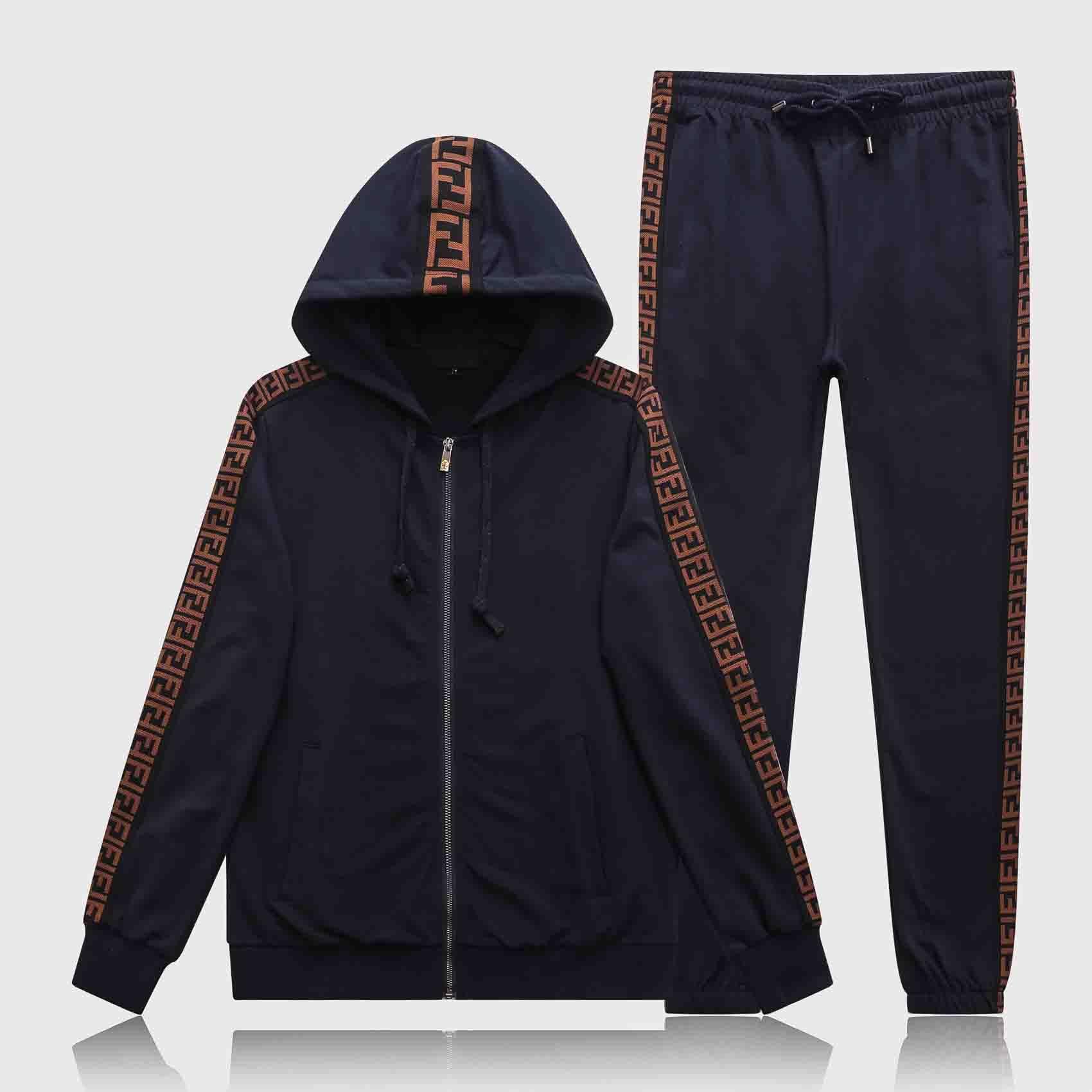 Commercio all'ingrosso moda autunno abbigliamento sportivo e abbigliamento sportivo invernale tuta con cappuccio completo da uomo cerniera di abbigliamento sportivo con cappuccio di alta qualità M-3XL