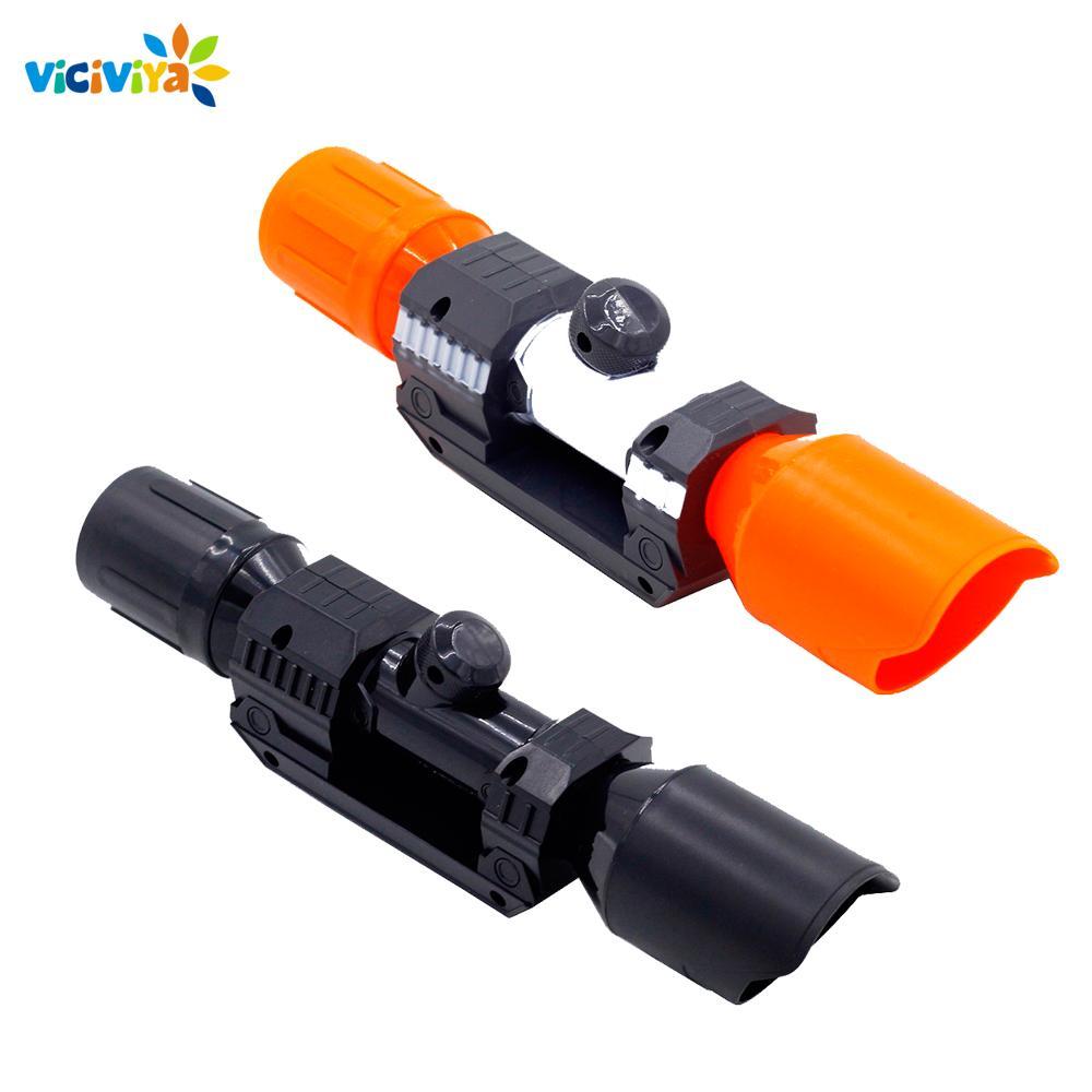 Compatible Modificado frontal Parte dispositivo de tubo de mira para el Nerf Elite apto para niños pistola de juguete