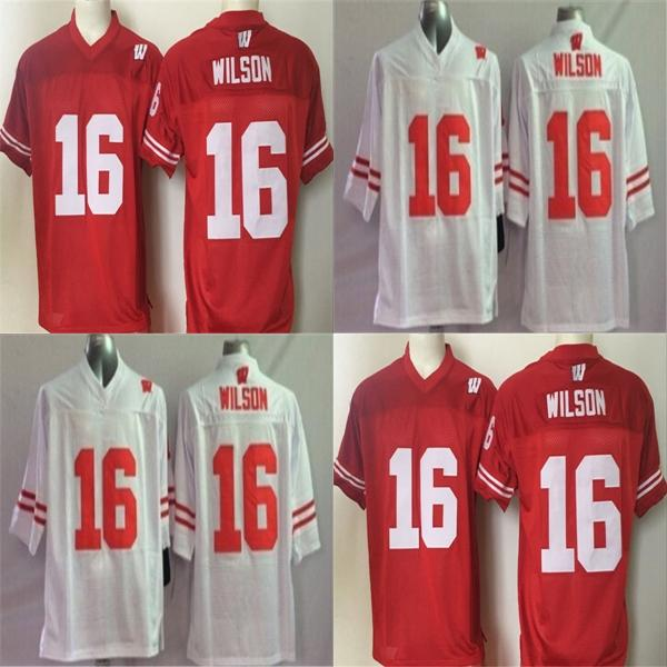 quality design 466e6 c511b 2019 Factory Outlet Mens 16 Wilson Stitched Cheap Wisconsin Badgers Best  Quality NCAA College Football Jerseys,Accept From Since, $22.34 | DHgate.Com