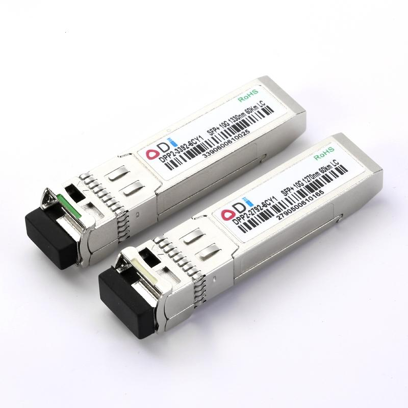 DPP2-3392-6CY1 10G SFP + BIDI Модуль оптического трансивера LC Simplex TX1270nm RX1330nm 60км порт