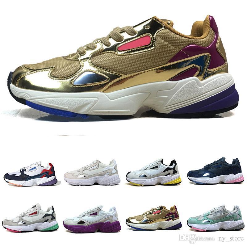 Nuovo Falcon W Shoes Casual per esterna delle scarpe da tennis di originali da jogging donne degli uomini di qualità Falcon Alta scarpe di lusso Progettista 36-45