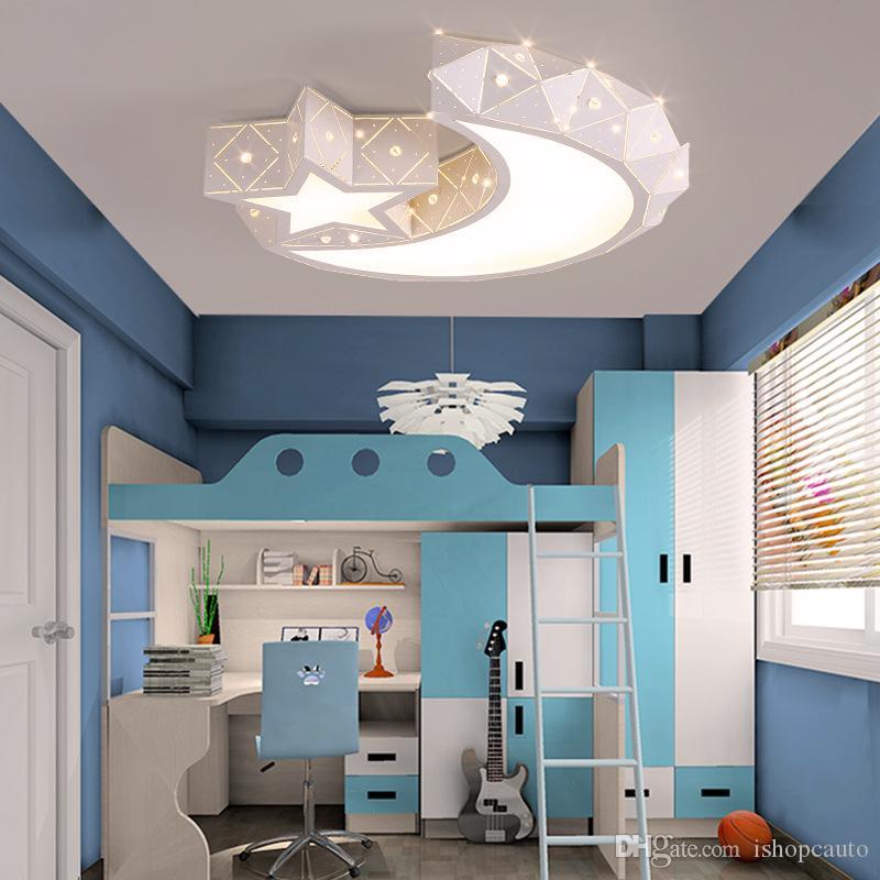 Nordique moderne minimaliste acrylique led plafonnier salon créatif lampe en fer forgé mode restaurant chambre étude étoile clair de lune